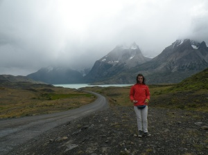 Yo en Torres del Paine