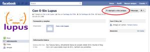 Sea amigo de Con o sin Lupus en Facebook