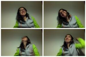 Siempre podemos reírnos y levantar el cuello pa las fotos y que se vea menos papada, jajajaja.