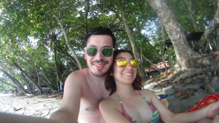 En Manuel Antonio, Costa Rica.