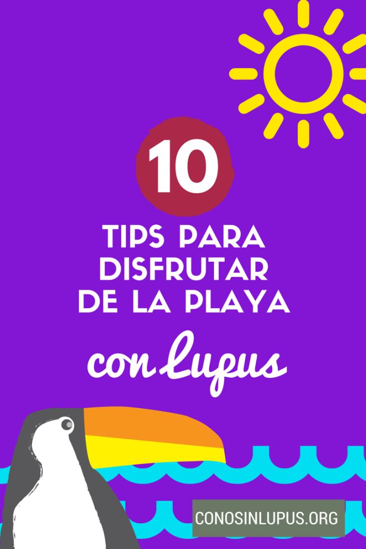 10 tips para ir a la playa con Lupus